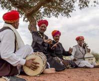 Rajasthan Langa Manganyaar Music Party Jaisalmer