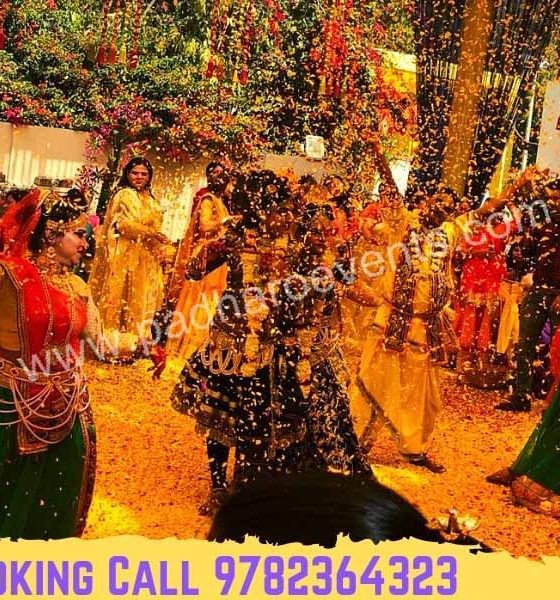 Phoolon Ki Holi in Wedding, Vrindavan Phoolon Ki Holi Group